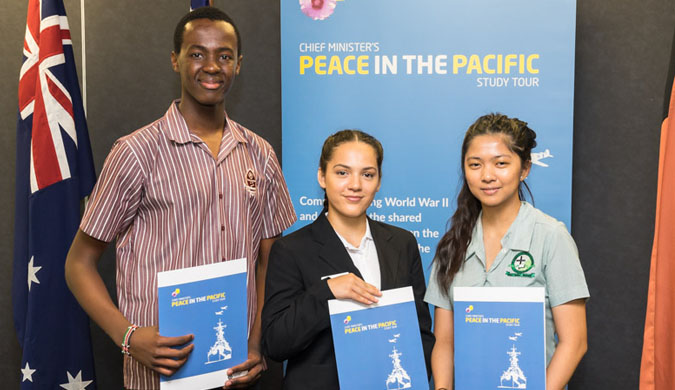 Peace in the Pacific Study Tour