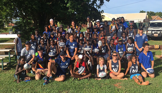 Next Gen NT AFL program at East Arnhem
