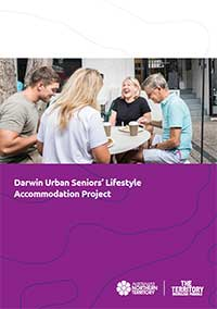 Front cover of the Darwin Urban Seniors' Lifestyle Accommodation RFDP
