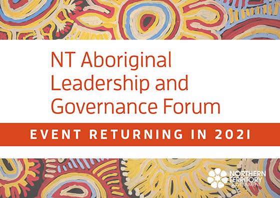Aboriginal Leadership and Governance Forum 2021